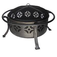 Cast Iron Firepits by Pleasant Hearth Sunderland Deep Bowl Fire Pit Ofw110r Walmart Com