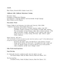 Sample Performance Resume by Academic Cv Performance Resume