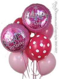 deliver balloons cheap pink birthday balloon bouquet for delivery by everyday flowers