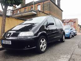 seat alhambra 6 sped manual tdi in ilford london gumtree