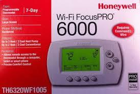 Honeywell Portable Comfort Control Honeywell Focuspro 6000 Wifi Jack U0027s Heating U0026 Cooling