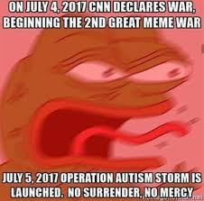 War Meme - far right unites in meme war against cnn