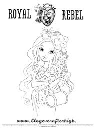 card image of briar beauty in outlined black and white to print