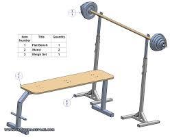 Workout Bench Plans Flat Bench Press Plan