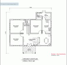 1500 Sq Ft Floor Plans Below 1500 Sqft Keralahouseplanner Single Floor House Plans Crtable