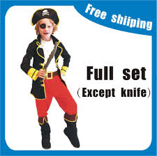 boys pirate halloween costume aliexpress com buy kids boys pirate captain jack sparrow pirate