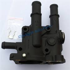 nissan micra engine coolant aliexpress com buy engine coolant thermostat and housing cover