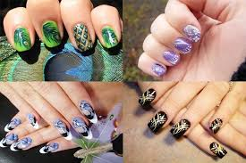 new 30 greatest effortless free hand painted nail art designs