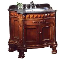 Ove Decors Buckingham Bathroom Inch Vanity Ensemble With - Elements 36 inch granite top single sink bathroom vanity