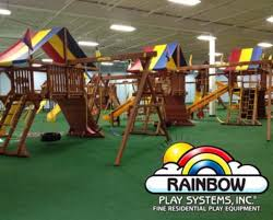 Rainbow Playset Birthday Party At Rainbow Play Systems Indoor Playground Store