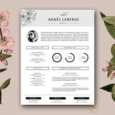 fashion design resume template creative resume template by