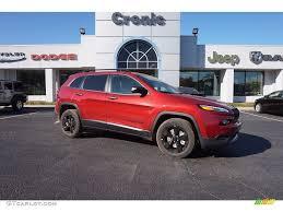 jeep cherokee sport interior 2017 2017 deep cherry red crystal pearl jeep cherokee sport altitude