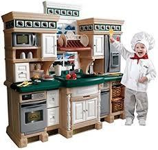amazon com step2 lifestyle deluxe kids pretend kitchen toys u0026 games