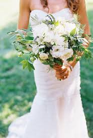 wedding flowers greenery best real wedding bouquets of 2014 white peonies peony and