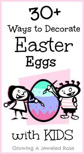 Decorating Easter Eggs With Nail Polish by Decorating Easter Eggs With Kids Growing A Jeweled Rose