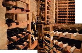 eco friendly houston custom wine racks made from oak wine barrels
