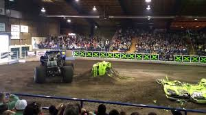 la county fair monster truck bigfoot monster truck at jackson county expo youtube