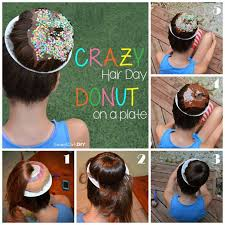 hairstyles with a hair donut the 25 best crazy hair days ideas on pinterest hair day crazy