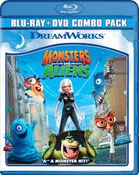 monsters aliens dvd release september 29 2009