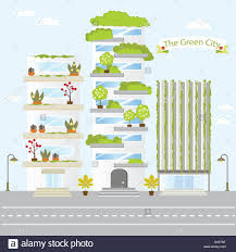 eco green city future building design life nature love save fresh