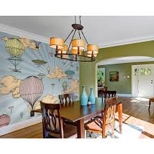 hot air balloon wall mural wals0246 the home depot hot air balloon wall mural