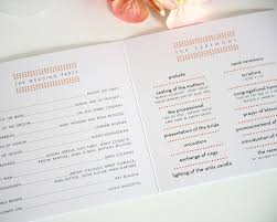 thank yous on wedding programs wedding program wording thank you svapop wedding wedding