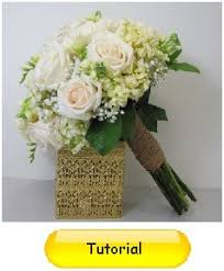 How To Make Wedding Bouquets How To Make Bridal Bouquets Easy Wedding Flower Tutorials