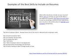 best soft skills for resume top 10 skills for resume top skills for a resume