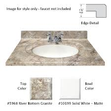 shop us marble designer river bottom cultured marble integral