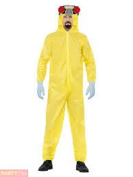 Gas Mask Costume Mens Breaking Bad Costume Gas Mask Walter White Hazmat Yellow