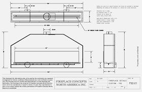 gas fireplace dimensions blaboum com