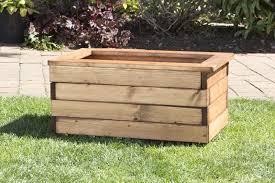 water trough planter wooden trough planter large garden wooden raised bed vegetable