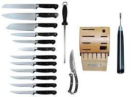 set of kitchen knives tsu 15 kitchen knife set with block heavenly swords