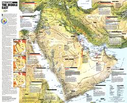 Map Of The Middle East by East States In Turmoil Map