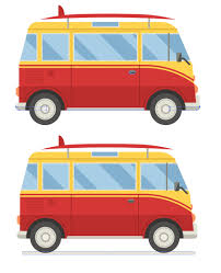 volkswagen minibus side view how to create a side view surfing van in adobe illustrator