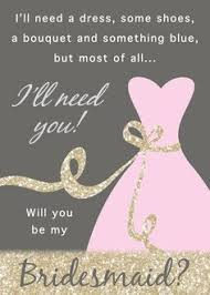 will you be my bridesmaid invite bridesmaid ask card for the will you be my of honor
