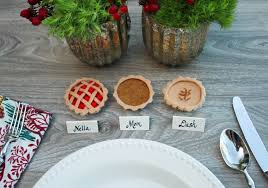 make stuff mini thanksgiving pie placeholders enjoying the small
