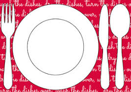 table setting placemat kids chores printable table setting placemats