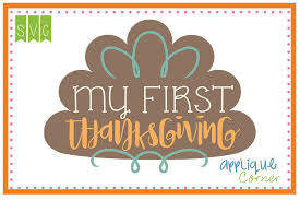 applique corner my thanksgiving cuttable svg clipart design