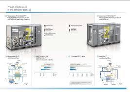 zr zt 55 90 oil free compressed air equipment