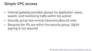 amazon elasticsearch service security deep dive aws online tech tal u2026