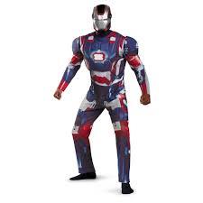 halloween costumes light up iron man 3 patriotic men light up deluxe costume 60 99