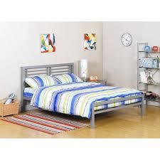 your zone metal platform full bed frame w headboard footboard