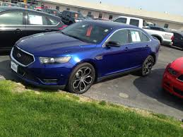 future ford taurus new taurus sho deep impact blue new ford taurus sho pinterest