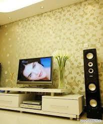 D Wallpaper Stickers For TV Wall Units Designs Home Interior - Designer home wallpaper