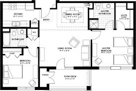 small luxury floor plans luxury two bedroom apartment floor plans