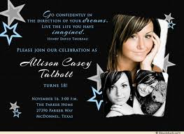 quote 18th birthday invitation future photos stars hopes