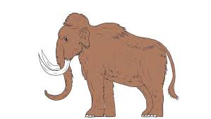 animation skeleton mammoth elephant gyrating black