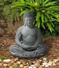 peaceful sitting buddha garden statue garden buddha statues