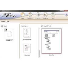 free resume template word processor microsoft works resume templates http www resumecareer info